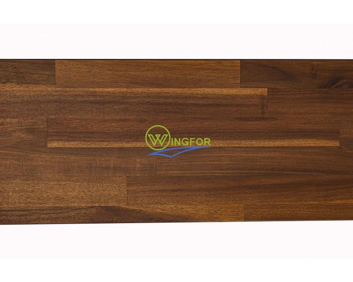 Parapet wewnętrzny, olejowany z akacji azjatyckiej, kolor Teak 153 cm