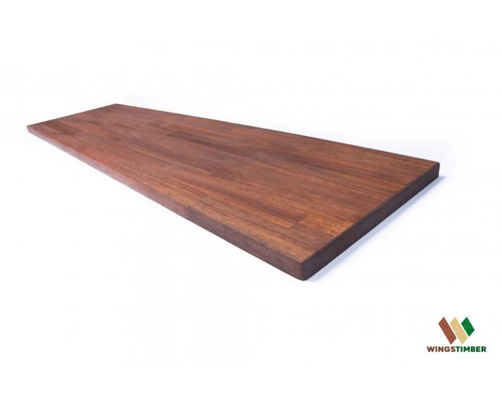Parapet wewnętrzny, olejowany z akacji azjatyckiej 153 cm