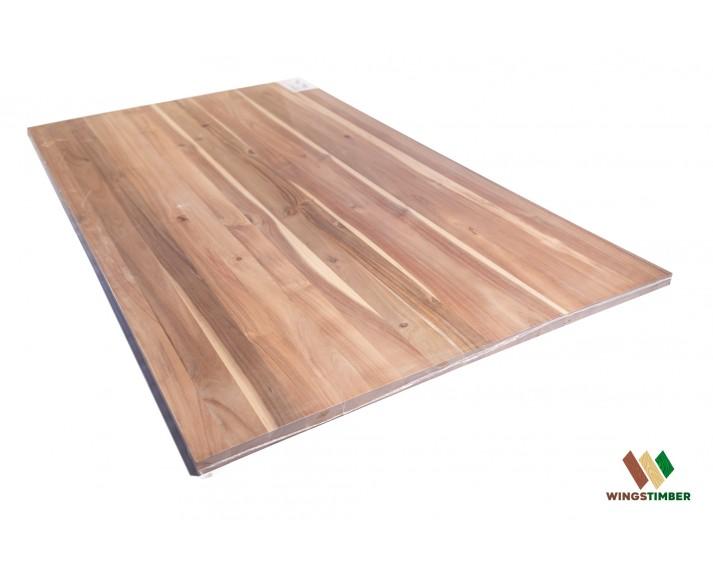 Blat drewniany Solid 94x160x2,6 cm, akacja azjatycka, surowy, o szer. 94 cm, dł. 160 cm i gr. 2,6 cm.