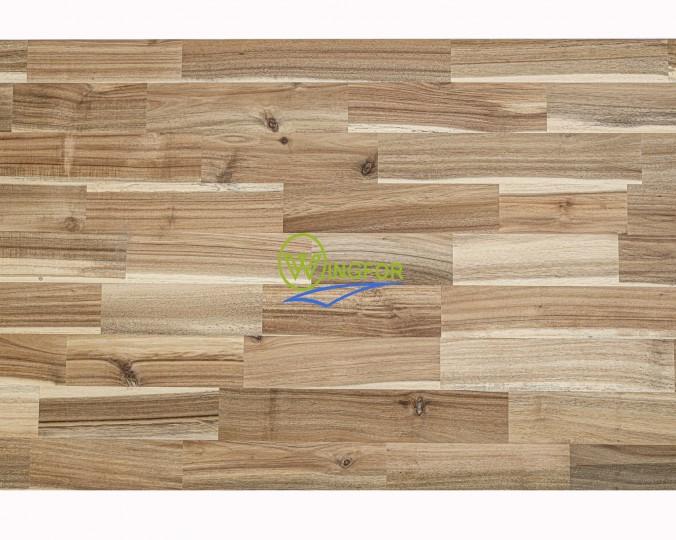 Blat kuchenny 83x400x2,6 cm, akacja azjatycka, surowy o szer. 83 cm, dł. 400 cm i gr. 2,6 cm