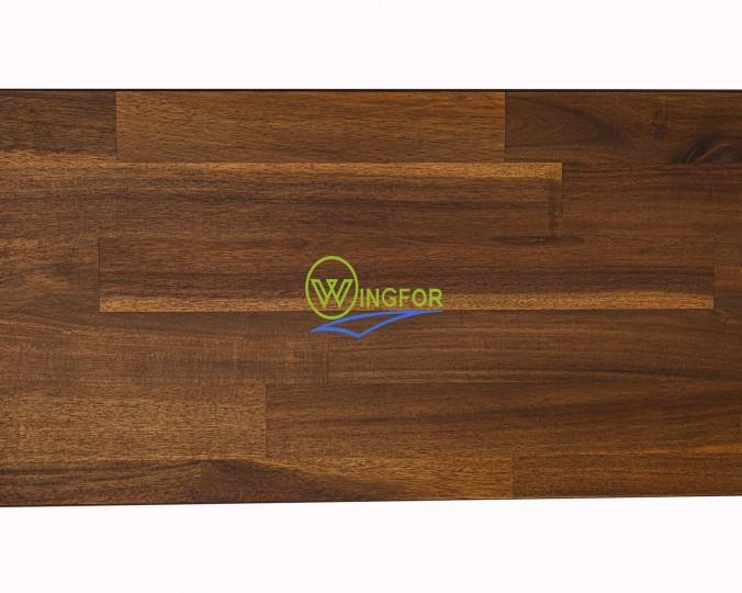 Parapet wewnętrzny, olejowany z akacji azjatyckiej, kolor Teak 93 cm