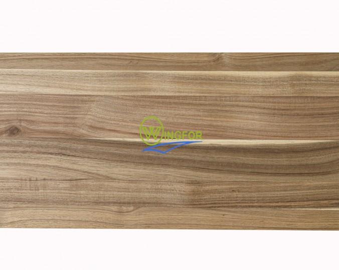 Parapet wewnętrzny, solid, surowy z akacji azjatyckiej, 183x33x2,6 cm, o dł. 183 cm, szer. 33 cm i gr. 2,6 cm