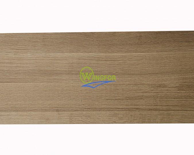 Stopień schodowy 30x110x3,5 cm, lity dąb amerykański, surowy, o szerokości 30 cm, długości 110 cm i grubości 3,5 cm