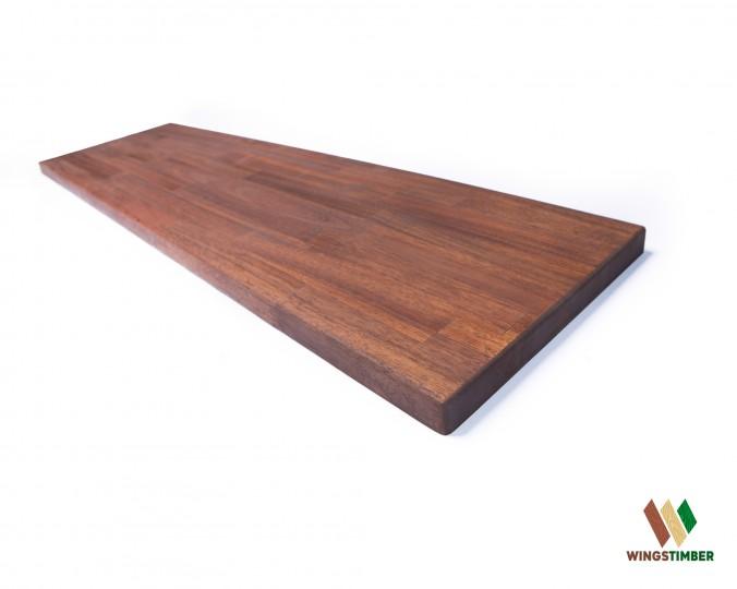 Parapet wewnętrzny, olejowany z akacji azjatyckiej 243 cm