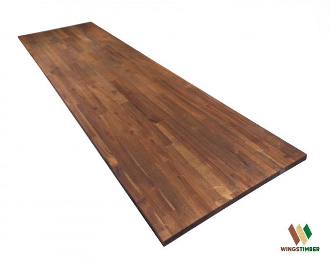 Blat drewniany 61, z akacji azjatyckiej, olejowany, dł. 220 cm i gr. 1,8 cm